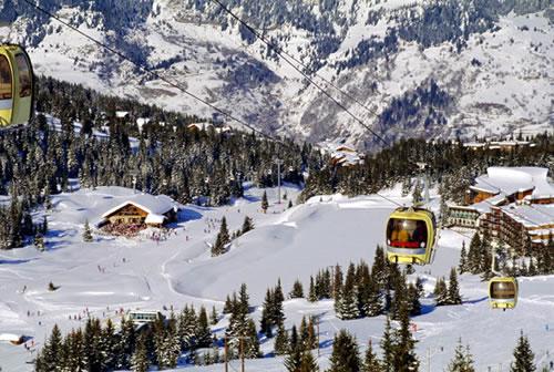 Снежный Куршевель — элитное место Франции